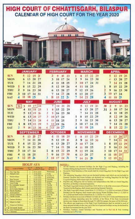 Hight Court Of Chhattishgarh, Bilaspur