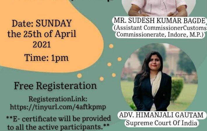 NationalWebinar@Chambers of Himanjali Gautam