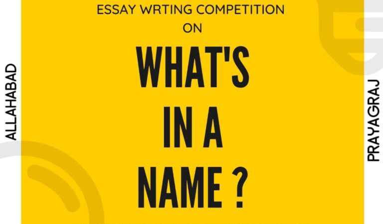 National Essay Writing Competition @Think India